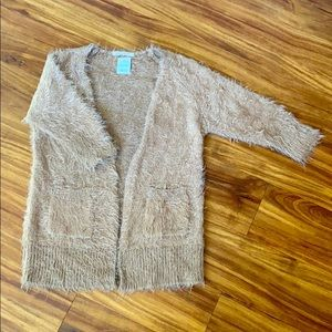 Silky smooth sweater wrap